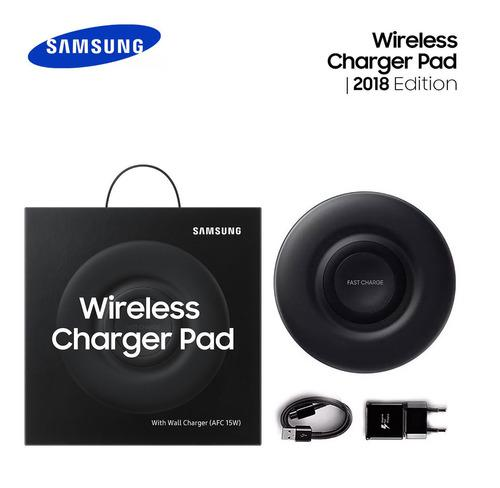 Samsung cargador inalámbrico fast charge s10 s9 s8 note 9 8