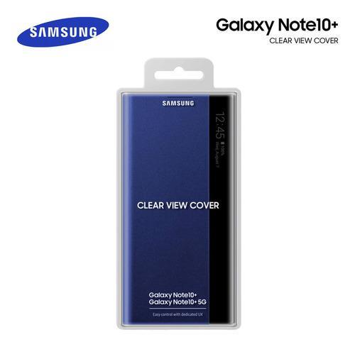 Samsung galaxy note 10 plus funda flip cover s-view original