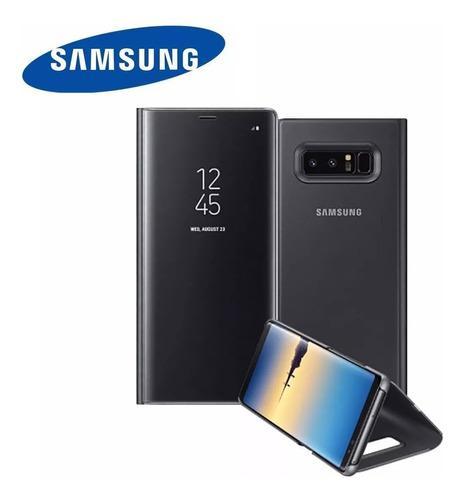 Samsung galaxy note 8 funda flip cover case s-view original