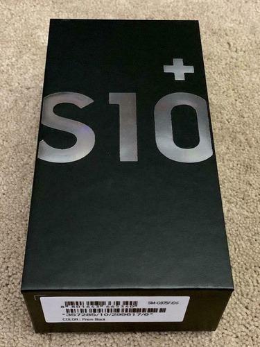 Samsung galaxy s10 + (sm - g975w) jet black 128gb