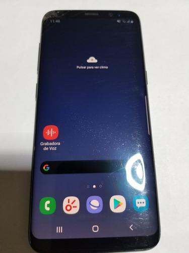 Samsung galaxy s8 negro 64gb interno y 4g de ram detalle