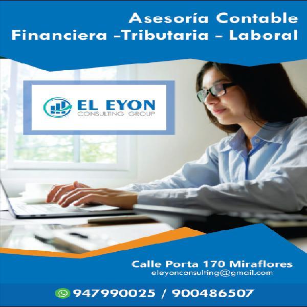 Servicios profesionales de contabilidad en lima