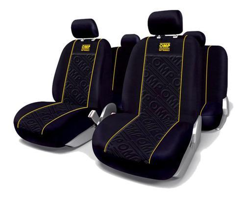 Set fundas cubre asiento auto omp1034yl amarillo