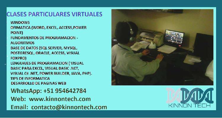 Curso virtual computacion e informatica