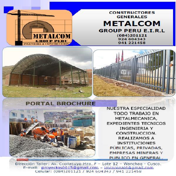 Construcciones soldaduras metálicas