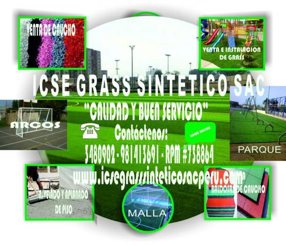 Instalación de grass sintético a nivel... en tacna