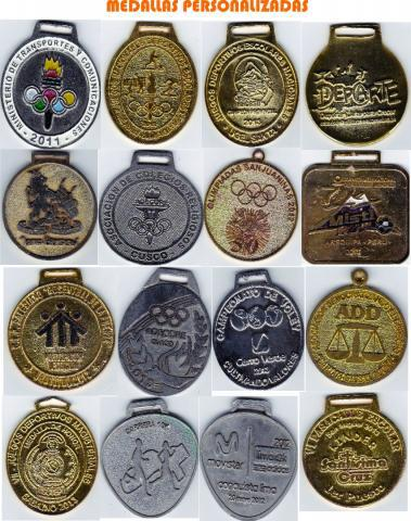 Medallas y llaveros deportivos en lima