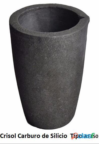 Crisol vendo, de carburo de silicio