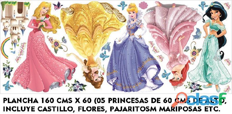 sticker PRINCESAS Decoración PRINCESAS niñas 14