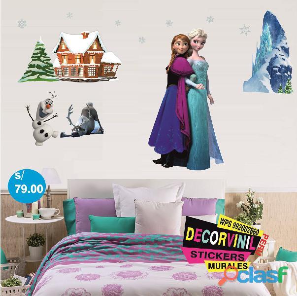 vinilos princesas disney  Decoración de habitaciones niñas 6