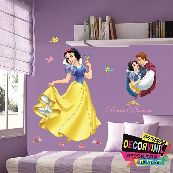 vinilos princesas disney  Decoración de habitaciones niñas 4