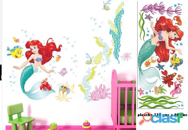 vinilos princesas disney  Decoración de habitaciones niñas 1