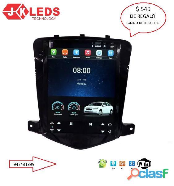 Nueva radio chevrolet cruze 2010   2011   2012 android de 2g ram