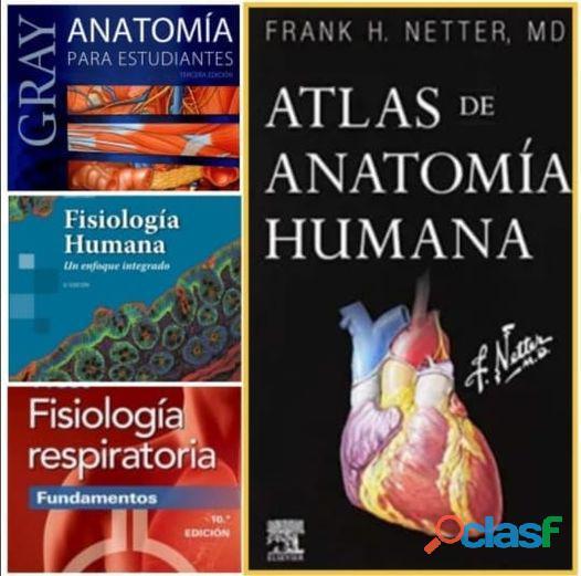 Libros de medicina: por delivery.