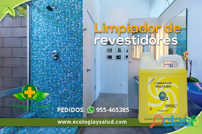 Limpiador y desinfectante ecológico de revestidores