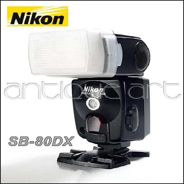 A64 Flash Nikon Sb-80dx Speedlight Bounce Mount Fotografia
