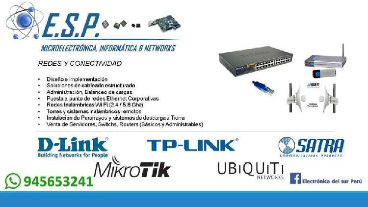 Instalación de redes informáticas y dispositivos