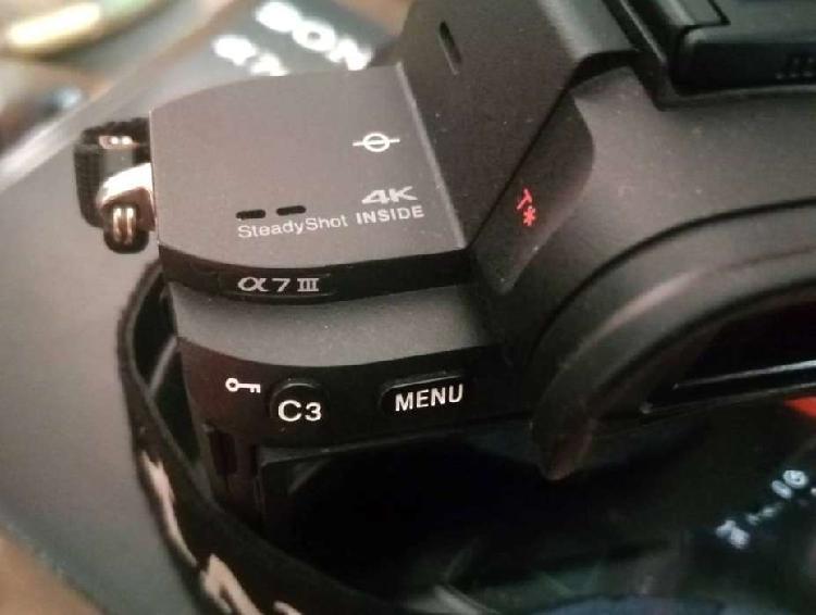 KIT PROFESIONAL VIDEO/FOTOGRAFÍA Sony a7III 4K + Lente Sony