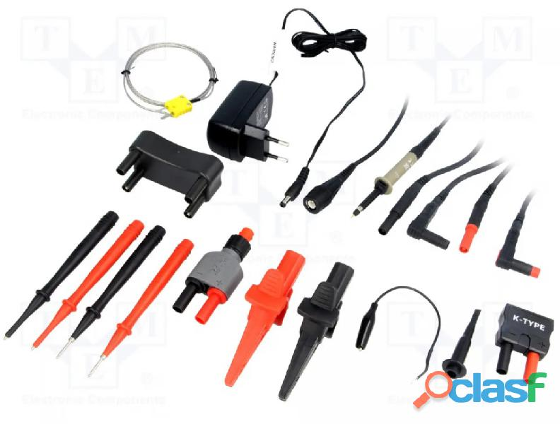 CEM DT 9989 Multímetro True RMS, Osciloscopio, bluetooth, IP67, CAT III 5