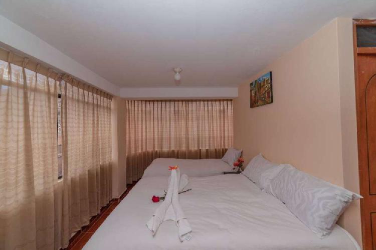 Alquilo amplio apartamento amoblado en cusco