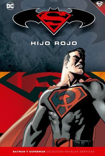 Batman y superman - hijo rojo - colección novelas gráficas