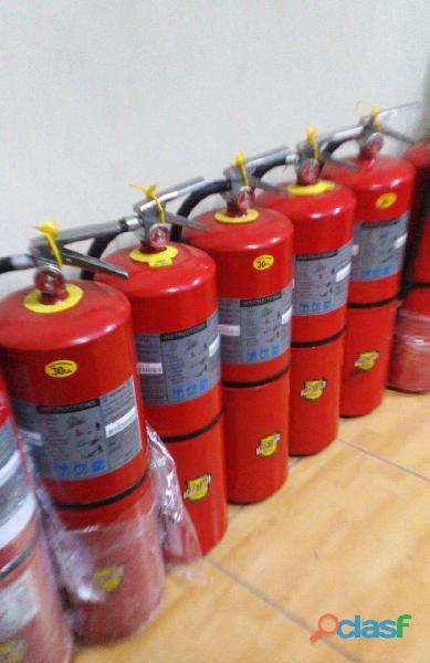 Extintor de 20 Libras Certificacion UL