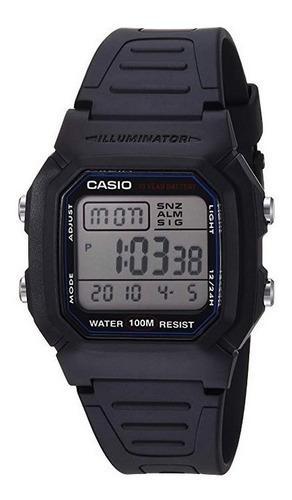 Casio w800h-1av reloj deportivo clásico nuevo original