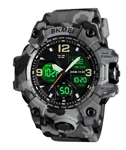 Reloj deportivo hombre skmei 1155b g-shock acuático alarma