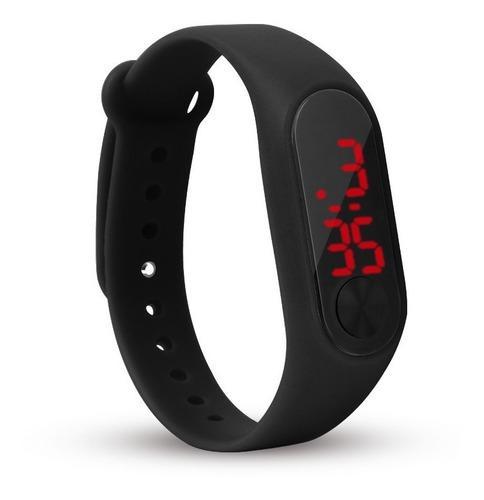 Reloj pulsera led silicona sport elegante importado x mayor