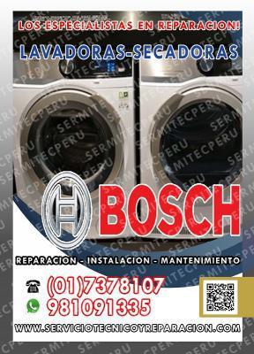 Bosch tecnicos» reparacion lavadoras 017378107 - barranco