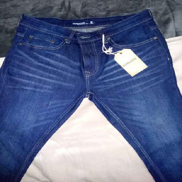 Pantalon jean pitillo nuevo
