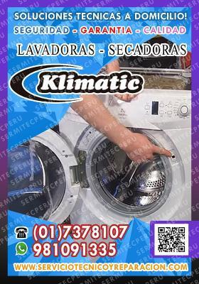 Potente! reparación de lavadoras» klimatic«017378107 -