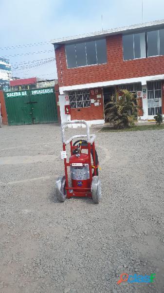 Extintor rodante 320bc certificacion ul