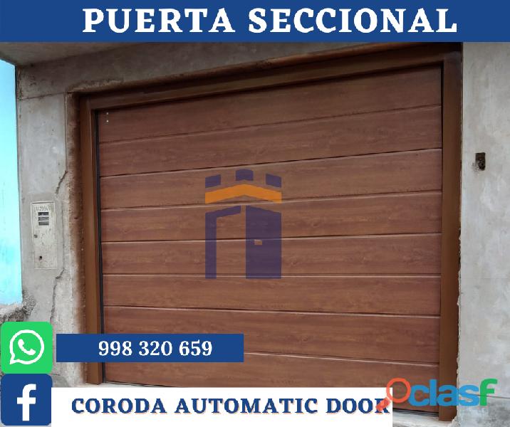PANELES IMPORTADOS   CORODA AUTOMATIC DOOR