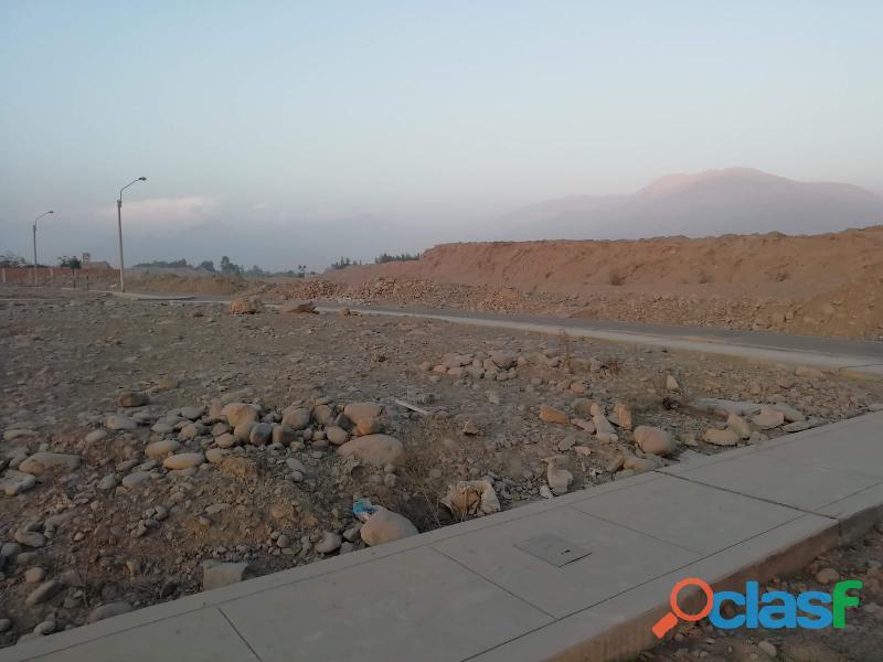 Terreno en venta en la urbanización la rinconada de carabayllo