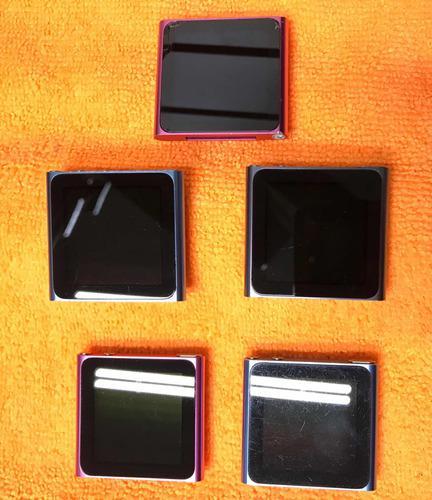 Ipod nano 6g 8gb 16gb detalles.
