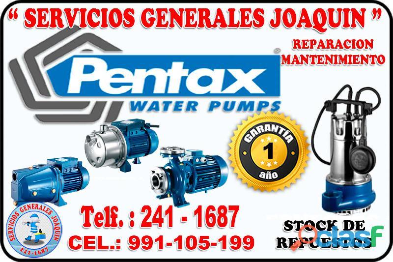 Servicio técnico * pentax * reparación de bombas de agua 241 1687