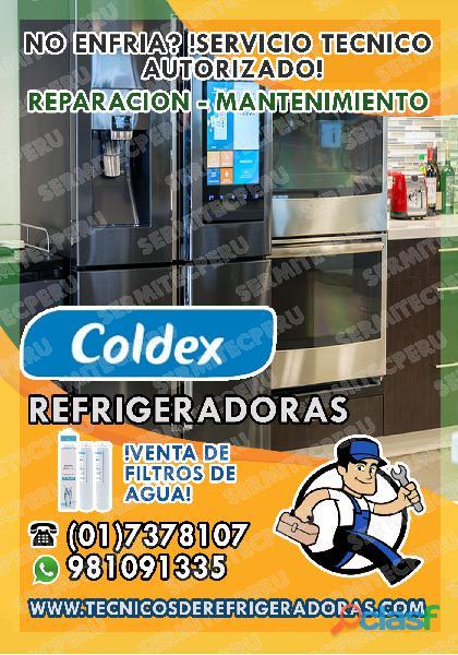A Domicilio>Técnicos de LAVADORAS COLDEX –017378107 en Los Olivos