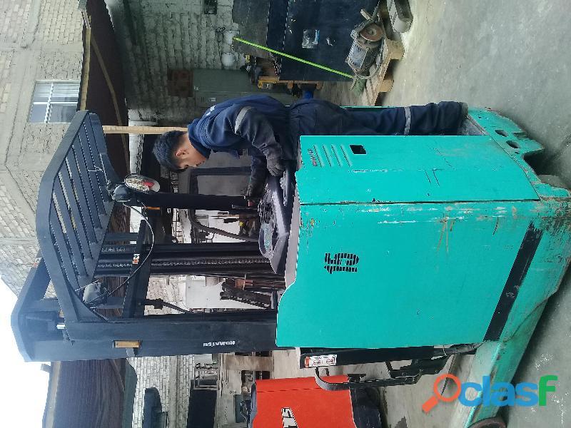 Reparacion de apiladores y montacargas electricos