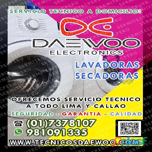 Soluciones>>>Reparación de Lavadoras DAEWOO 981091335   Jesús María