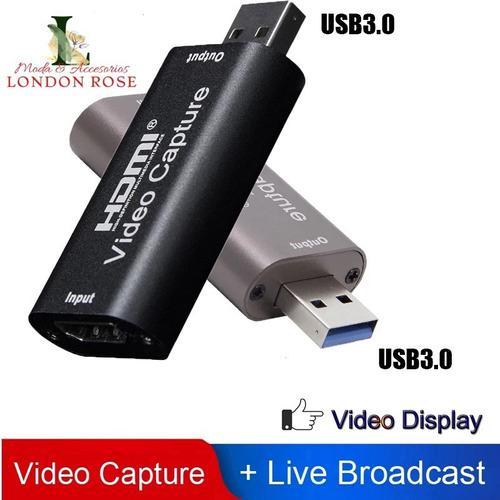 Capturador de video hdmi usb 3.0 1080p 4k
