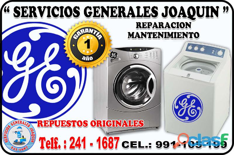 Servicio tecnico GENERAL ELECTRIC lavadoras, secadoras 991 105 199