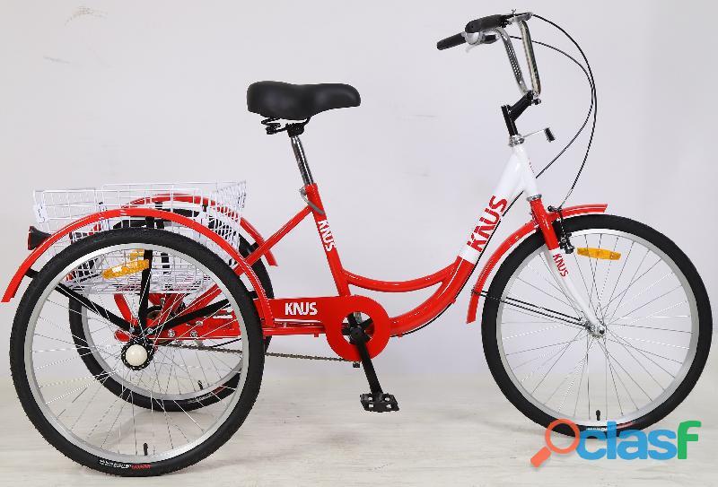 Venta de triciclo para adultos ✅tricicargo bicicleta de tres ruedas knus perú