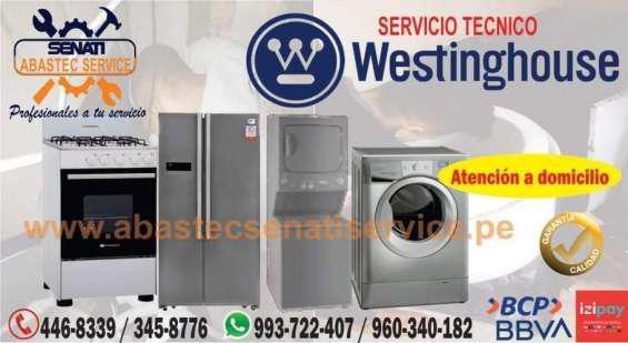Servicio técnico westinghouse; lavadoras, refrigeradoras,