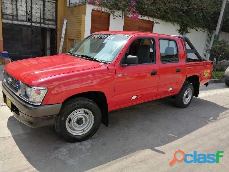 Toyota hilux 1998 gasolina mecanica 4x2 doble cabina motor 1rz
