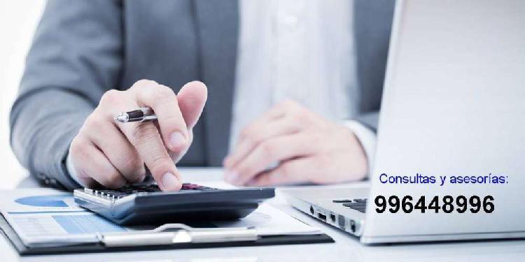 Asesorias trabajos de finanzas, contabilidad, evaluacion de