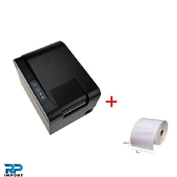 Kit rollo / impresora térmica etiquetas 60mm oferta