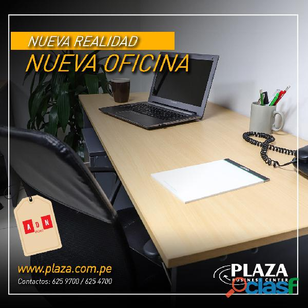 Alquiler de oficinas completamente amobladas y con todos los servicios incluidos