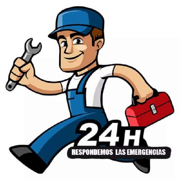Electricista, gasfitero, albañil, pintor, carpintero,