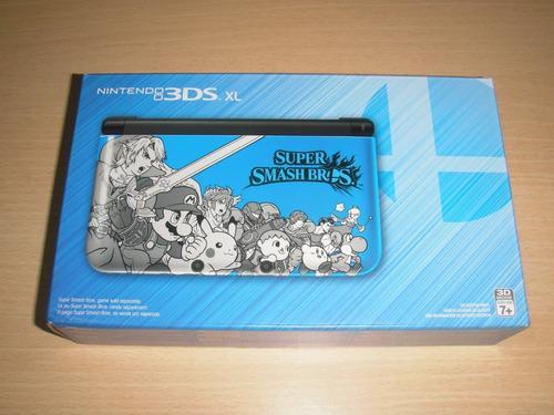 3ds Xl Smash Bros Limited Edition (3ds Nuevo Sellado)
